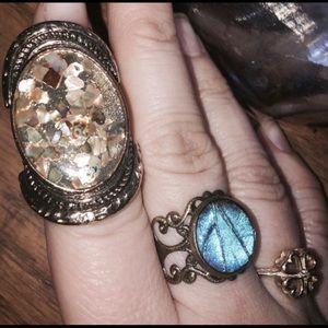 Costume Antique brass ring